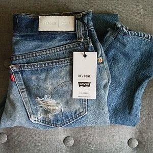 Levi's high-rise Re/done jeans